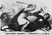 Brooks-Sumner Affair May 22 1856