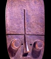 Mascara típica de Sierra Leona