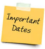 Dates to Check