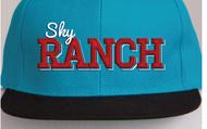 Sky Teal Flatbill Hat