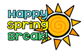 Spring Break (March 25-April 3)