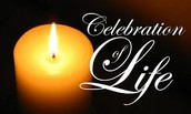 We honor the celebration of life