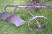 Iron plow tool