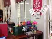 Students in Ms. Smith's  Class created offrendas-