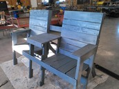 Live Auction: Middle School - Bench Fit for King