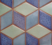 This tile is made out of rhombuses