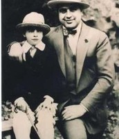 Albert Francis Capone and his dad