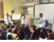 Navy Sailors Visit Luxford!