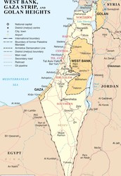 Why did the Israeli-Palestinian conflict start?