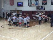 Future Warriors Perform At Halftime