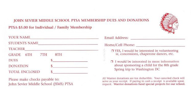Join JSMS PTA! | Smore Newsletters for Education