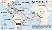 Slave Trade Route