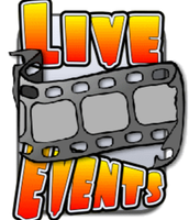 2 Live Events coming up NEXT week!