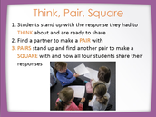 Think, Pair, Square