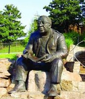 The Alex Harley statue