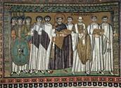 El Mosaic de Teodora de Constantinoble.