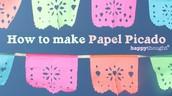 """Parent Workshop """"How to make Papel Picado"""""""
