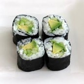 Avocado and Cucumber Roll