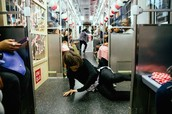 Uniqlo Took Over Chicago Subway Trains with Djs and Breakdancers for OOH Campaign