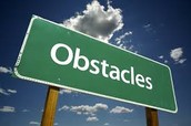 Some obstacles that can get in your way