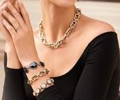 #9 - Endless Pavé Link Necklace & Braclet