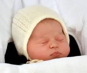 New arrival Princess Charlotte