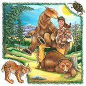Davy Crockett's Animal Encounters