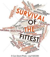For many, survival of the fittest is the idea of who can work out longer or who has rippling muscles