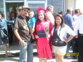 Sisters graduation day