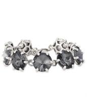 Amelie sparkle bracelet silver/black*