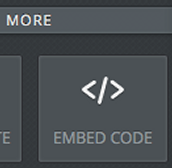 Log in to Weebly and choose the Embed Code option on your site.  Paste your code here.