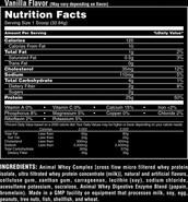 Whey Protein Powder Ingedients List