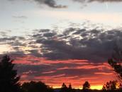 A Helena Sunset