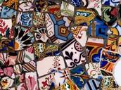 Los Azulejos de Park Guell