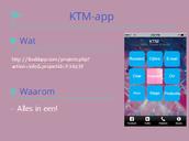 Presentatie KTM-app
