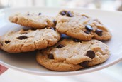 Chocolate chip cookie 78% off originally $2.40 now $1.78