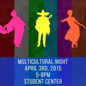 FRIDAY - Multicultural Night
