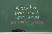 What it is to be a teacher.