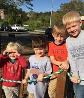 Buddies on the playground!