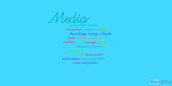 words describe media