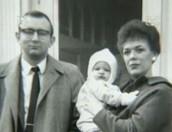 Joyce Dahmer holding baby Jeffrey