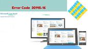 Error Code 30145-16