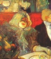 In una saletta privata-Al Rat Mort, Toulouse-Lautrec, 1899