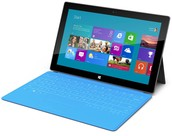 The surface pro tablet