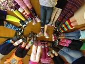 Crazy Sock Day is Monday, 11/03/14 :)