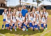 Middle school girls' soccer