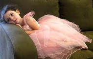 ballerina laying down
