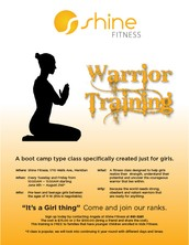 Warrior Training (Girls)/  Pick Up Ball (Boys)