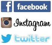 Stay with US even on Social Media