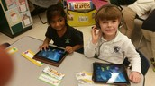 Using Math and Literacy Apps on IPads